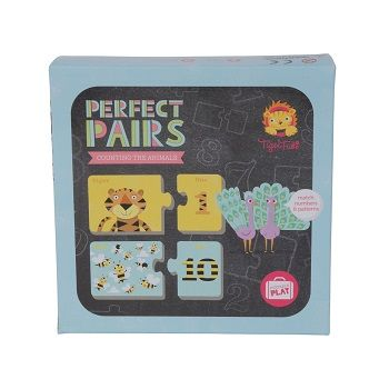 Perfect Pairs Puzzle & Counting the Animals $17.95 #sweetcreations #baby #kids #toddlers #games #puzzles #toys