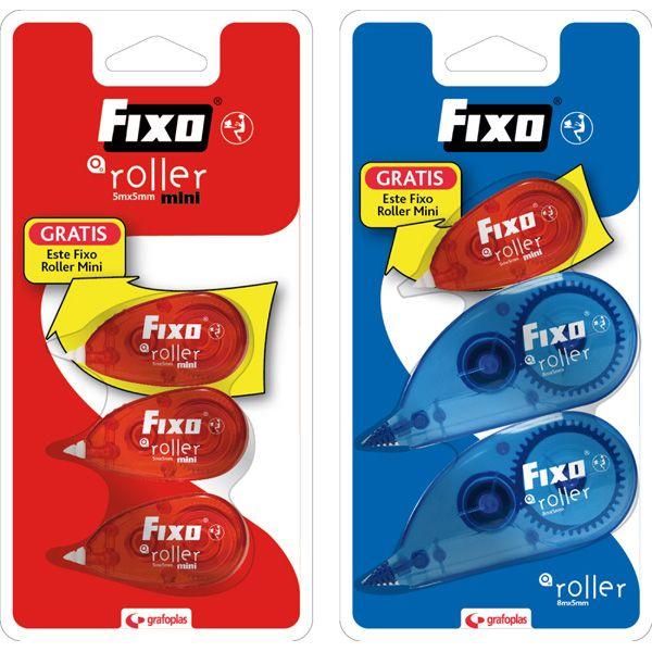 Cintas Correctoras, FIXO (blister) #fixo #grafoplás