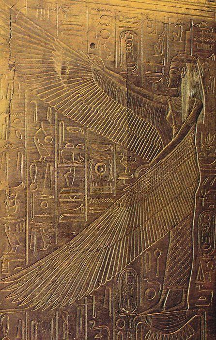 Egyptian Goddess Isis... (via illuminatetheworld)