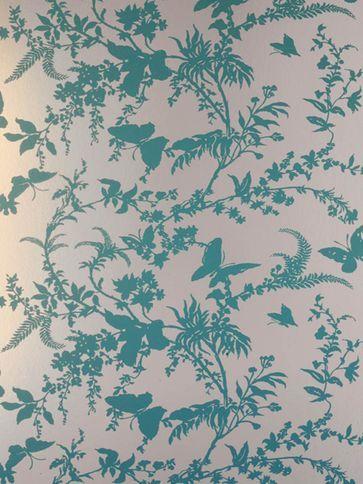 Florence Broadhurst wallpaper - I love her timeless designs!