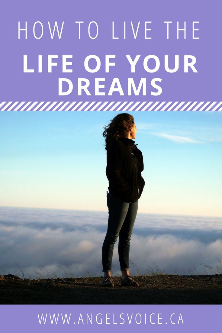 How to Live the Life of Your Dreams Video Blog