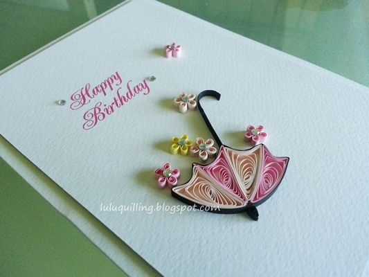 Lulu's Quilling Lab: cards