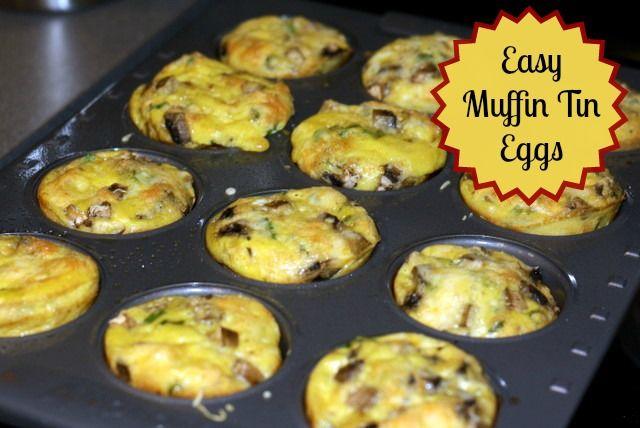 Muffin Pan Eggs: Easy Breakfast Idea   Chaos & Love