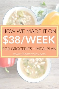 $38 Meal Plan for a Family of Three - Breakfast, Lunch & Dinner for 1 Week. Learn how to save money on groceries and save time with this aldi meal plan. This family meal plan comes with lunch ideas, breakfast ideas and frugal dinner recipes!
