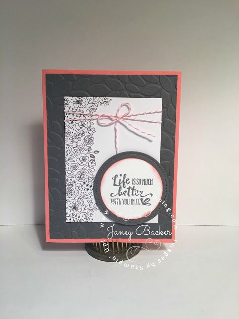 Inspired Stamping by Janey Backer: Sweet Soiree Card Designs, Memories and More, Stampin' Up!