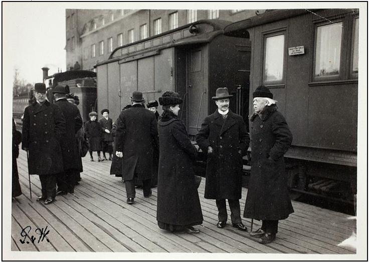Helsingin rautatieasema 1908