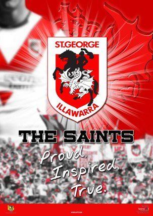 NRL - St George Dragons.
