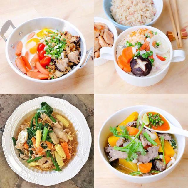 Easy To Cook ก บไอเด ยอาหารเช า อาหารเย น แคลอร ต ำ อร อย ทำง าย ได ประโยชน เต มส บ อาหารเย น อาหาร อาหารอร อย