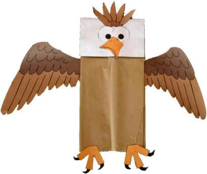 I remember making puppets out of bags when I was a kid -- I think I need to help some kids have this memory!!