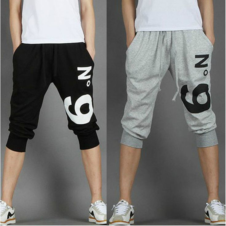 2017 Hot Selling Summer Calf-Length jogger Pants For Men Fashion Leisure Mens Capri Pants