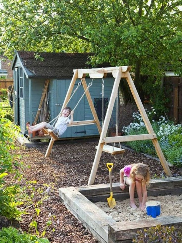 45 Cozy Garden Design Ideas For Kids Play Spaces Bahce Tasarimi