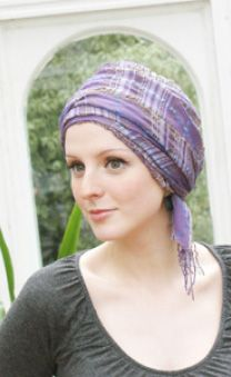 Intermediate level - long turban tying scarf guide
