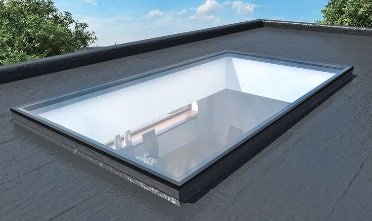 Fixed Flat Rooflights Glass Roof Roof Lantern
