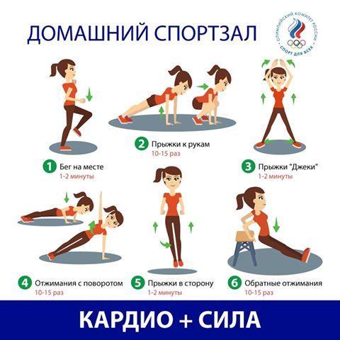 Правила кардиотренировки для похудения