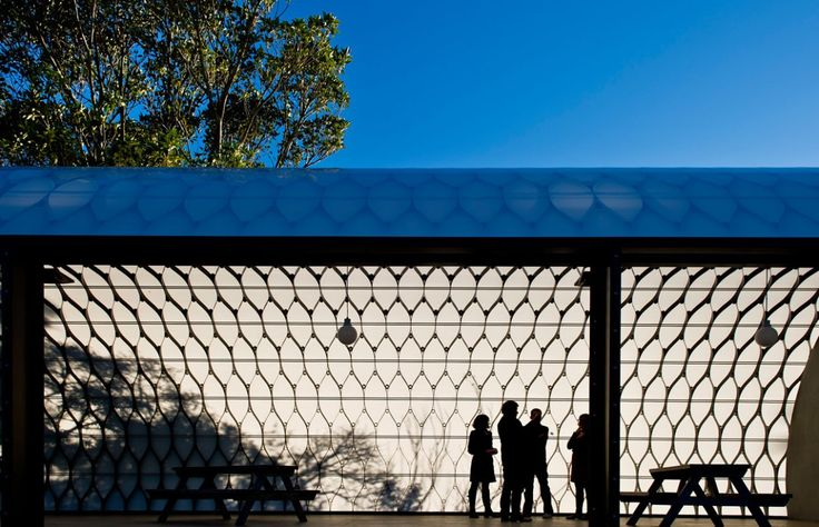 Social Pavilion at Wellington Zoo by Louise and Justin Wright, Assembly Architects Limited, New Zealand. Photograph by Mike Heydon. www.assembly.co.nz