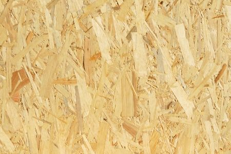 Heard of OSB? OSB is Oriented Strand Board. Made of strands of smaller logs than plywood, it is a different sort of product.