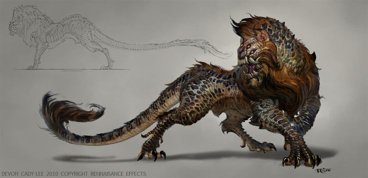 The Orphan Beast by ~Gorrem on deviantART