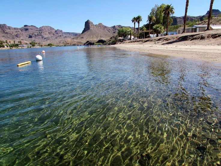 https://flic.kr/p/R5zFr6 | Wading out | Colorado River, Castle Rock Shores RV Campground, Arizona
