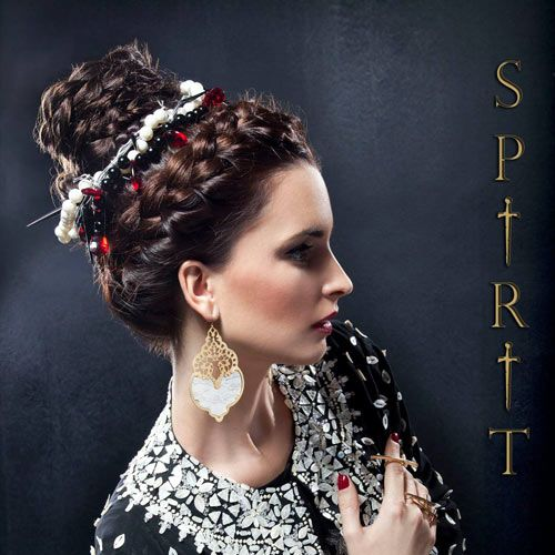 FW14 Spirit collection by gino hairandmore INSPIRATION: Medieval, Byzantine, Jeanne d'Arc hairstyles Braided updo