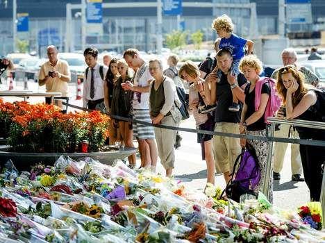 Vandaag dag van nationale rouw in Nederland - Rampvlucht MH17 - De Morgen.be