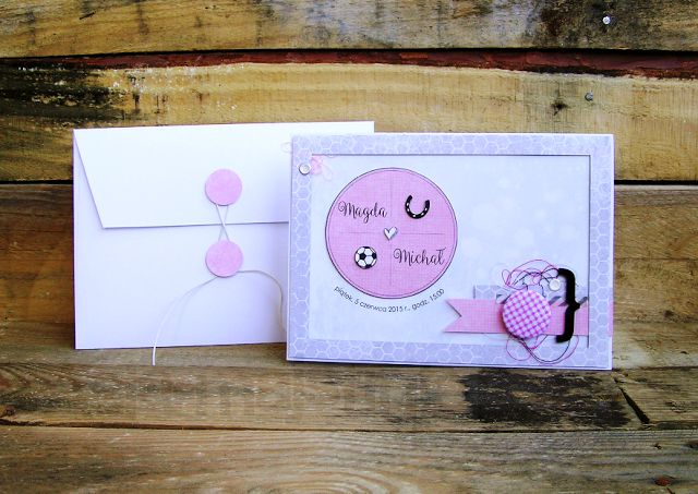 Wedding card | best wishes for newlyweds | horses and football lovers