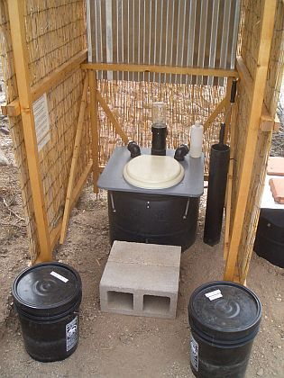 Barrel Composting Toilet System: Construction and Installation Manual