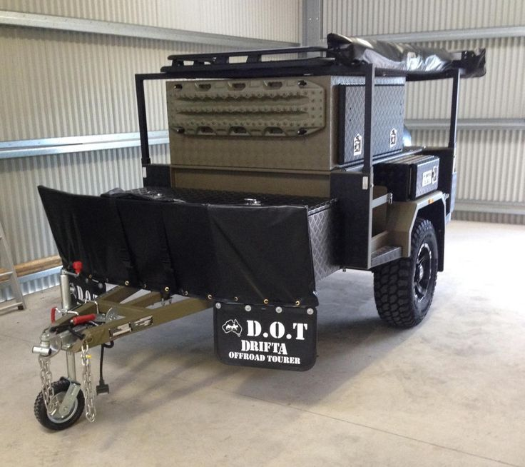 Drifta Kitchen Plans: Expedition Trailer, Utility Trailer And Offroad