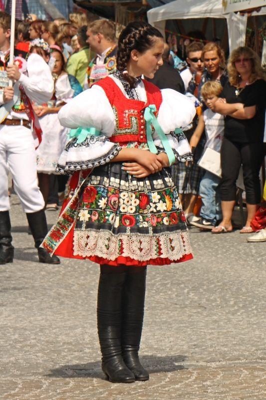 Vřesovický kroj. Slovácký rok Kyjov |