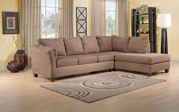 Living Room Furniture-The Prairie II Collection-Prairie II 2 Pc. Sectional
