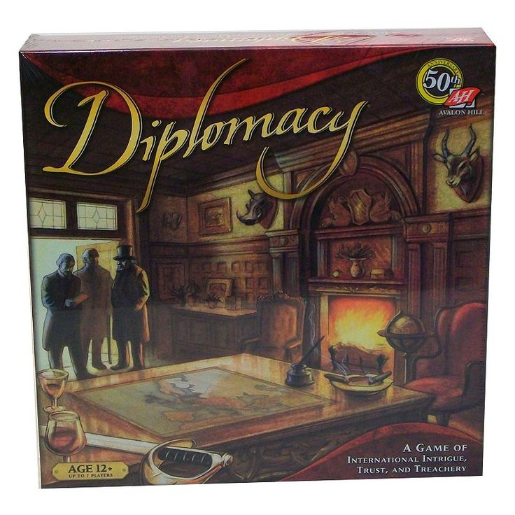 Diplomacy Board Game, Multicolor