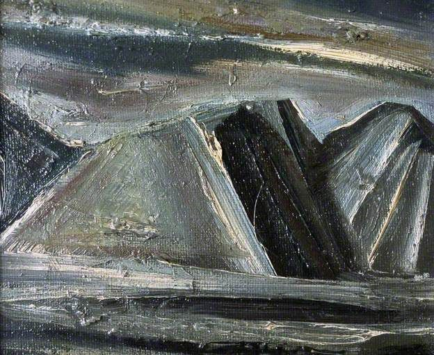 Mario Sironi - Three Mountains