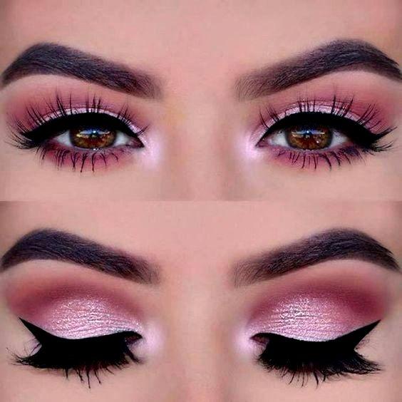 Maquiagem Rosa Passo A Passo E Fotos Make Up ♡ Eye