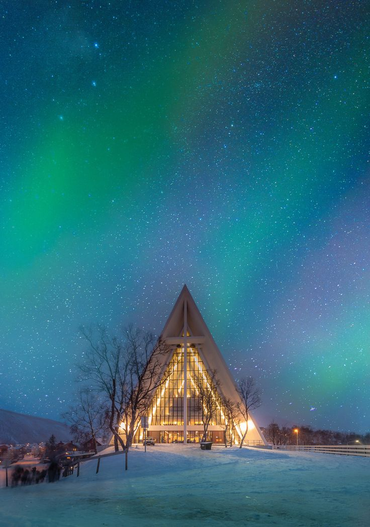 Arctic Cathedral in Tromso, Norway