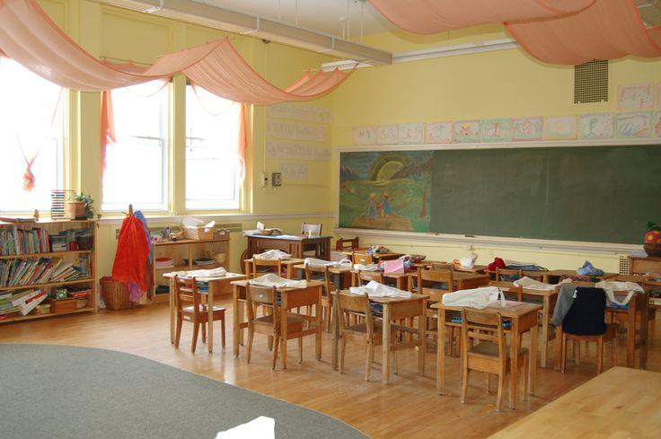 Pin by Erika Yocom on Preschool Room  Classroom ceiling Classroom walls Montessori classroom