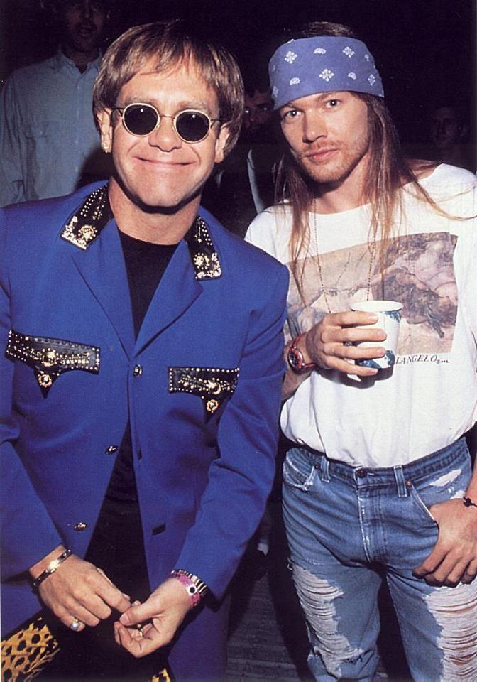 Legends  Elton John & Axl Rose