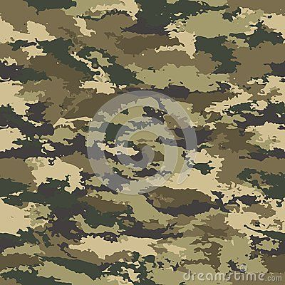 Vector camouflage seamless. Camouflage military background - vector illustration. Abstract spot pattern. The defender of the Fatherland day