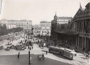 Vecchia Stazione Termini (Anni '30)