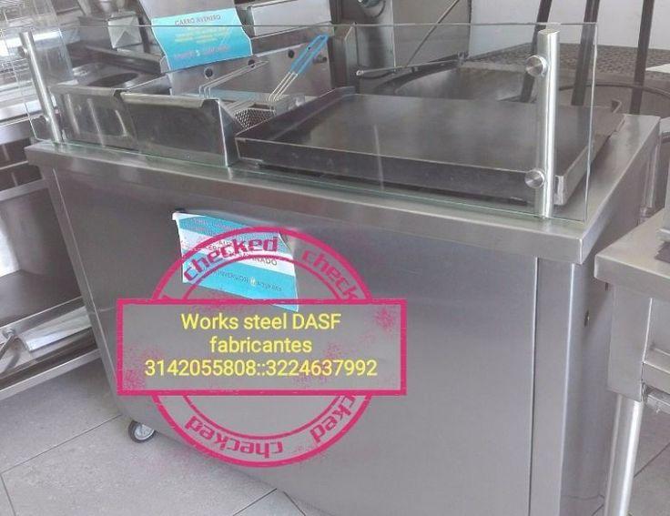 carros comidas rapidas freidores planchas parrillas Works Steel dasf empresa encargada de la fabricacion y venta de maquinaria para la industria de alimentos.fabricantes directos: 3224637992   3142055808