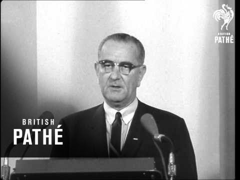 August 2014: 50 years ago, North Vietnamese boats attacked USS Maddox in the Gulf of Tonkin. LBJ made this speech about that and the mysterious second incident: http://youtu.be/gnQEcn57TtI