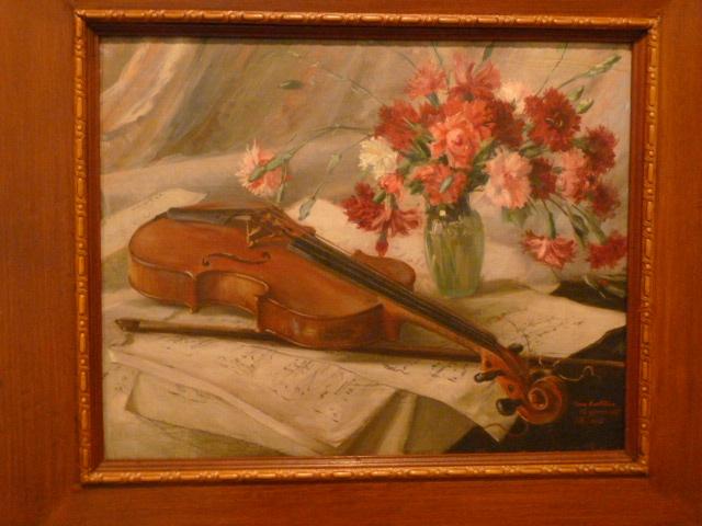 El Violin y las Flores