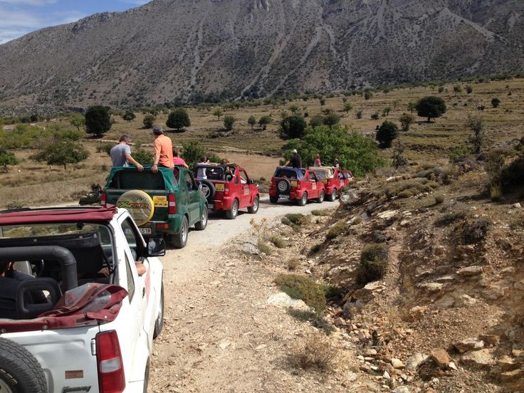 Jeep Safari - Amoudara, Greece