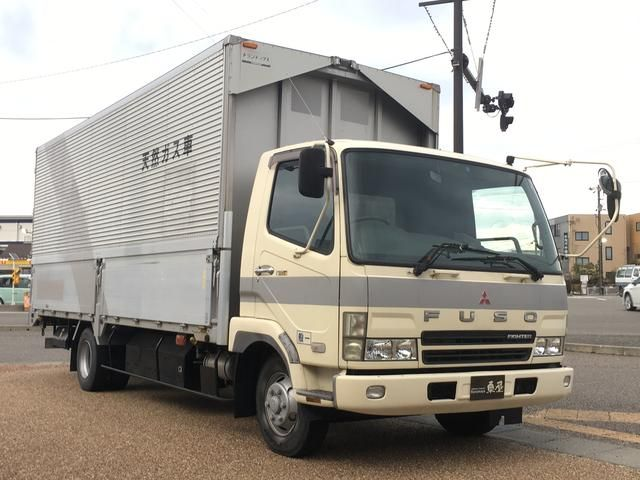 2002 Mitsubishi Fuso Fighter Aluminium Wing Body Truck Trucks Mitsubishi Used Trucks For Sale