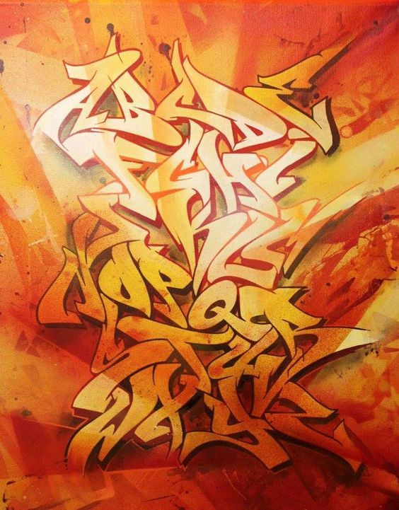 Graffiti Alphabet : Amazing Graffiti Alphabet Letter A Z 2016 Graffiti Alphabet…