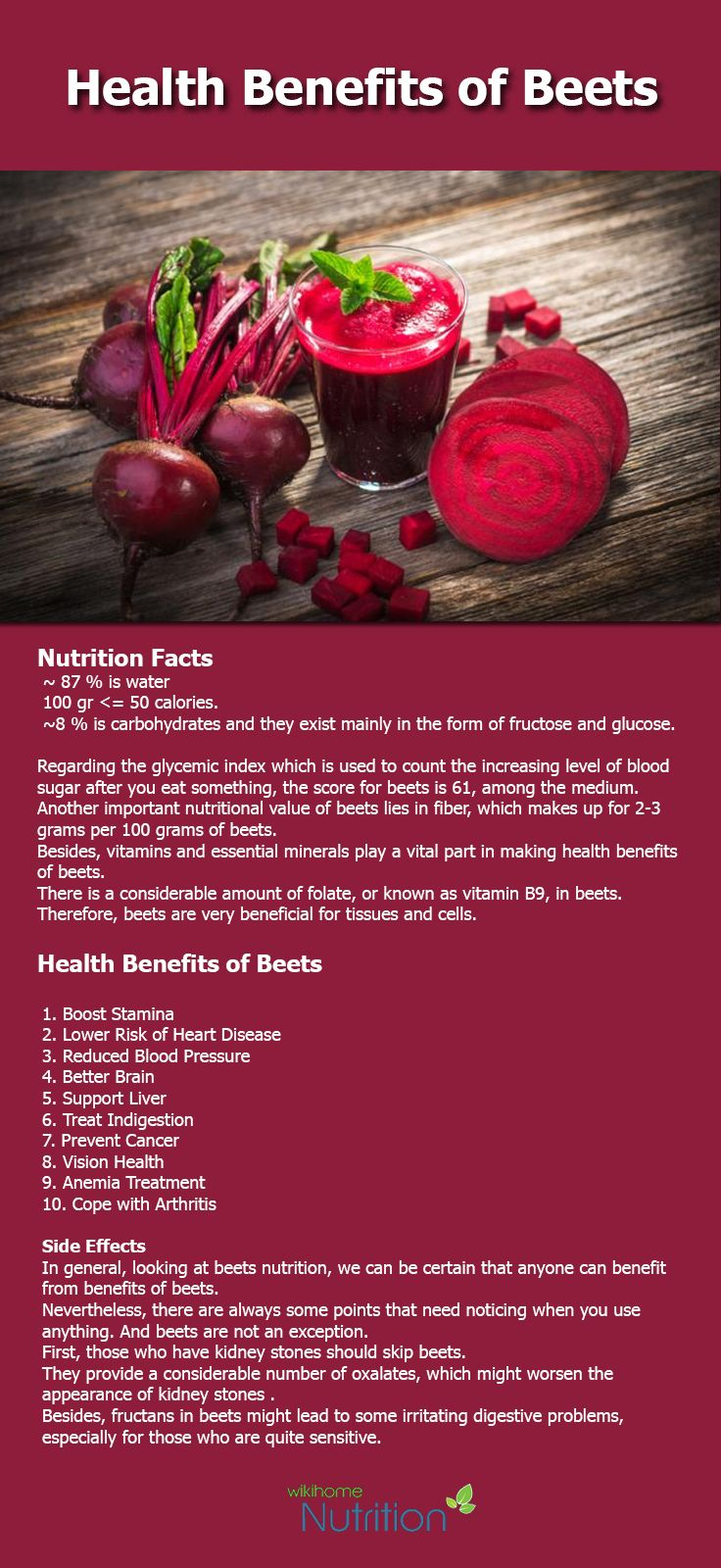 Maybe you don't know health benefits of Beets