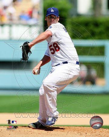 Los Angeles Dodgers - Chad Billingsley Photo
