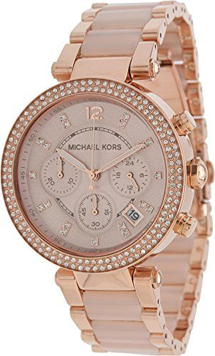 Michael Kors Women's Parker Two-Tone Watch MK5896 $295.00 Buy at http://loftymart.com/michael-kors-womens-parker-two-tone-watch-mk5896-295-00/