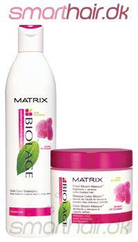 Luksus shampoo og hårkur til farvet hår.