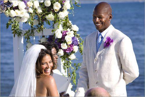 8/16/2008: Ray Allen & Shannon Walker Williams