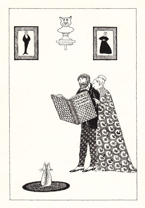 195 best illustrations images on pinterest art t s eliots iconic vintage verses about cats illustrated and signed by edward gorey fandeluxe Image collections