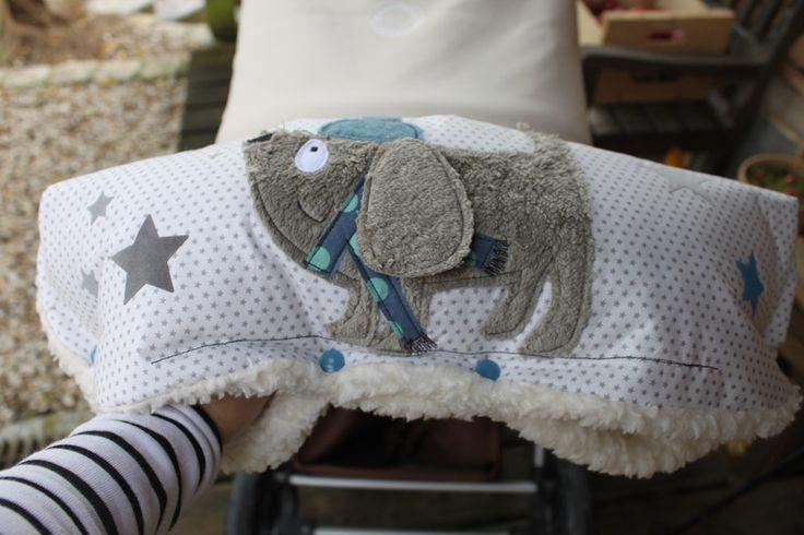 Kinderwagenmuffs - Kinderwagenmuff ★WiNTEr★Henri★extra warm! - ein Designerstück von milla-louise bei DaWanda